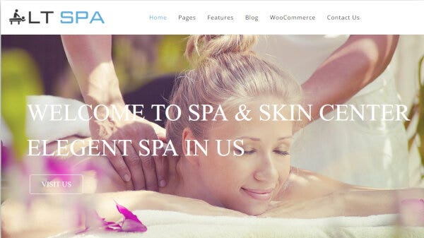 LT SPA – Drag-drop Layout Content Supported WordPress Theme