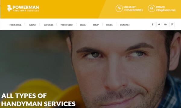 Powerman – Easy-to-Customize WordPress Theme