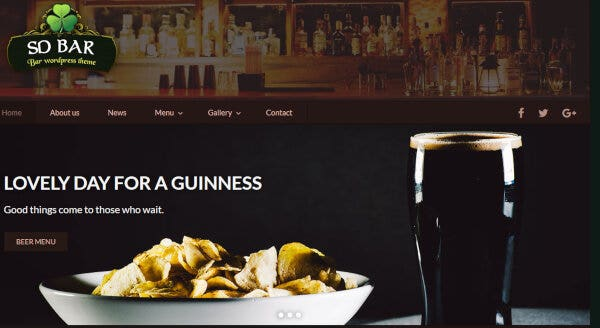 SD Bar – Structured WordPress Theme