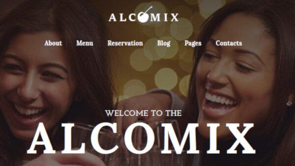Alcomix – Bar WordPress Theme