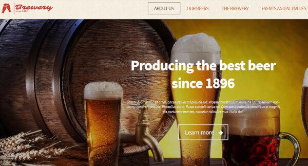Brewery – Monostroid WordPress Theme