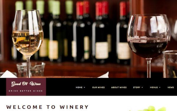 Good Ol' Wine – Multilingual WordPress Theme