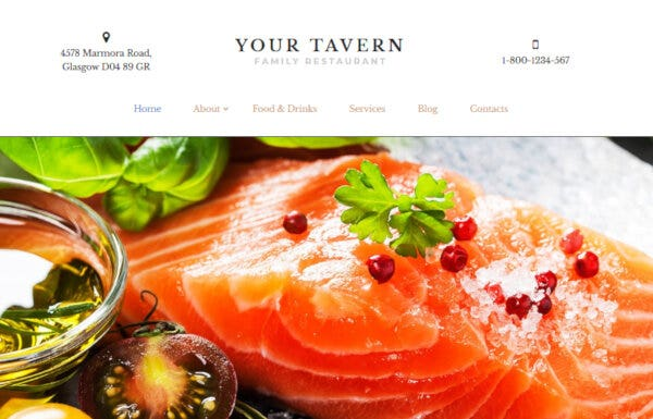 Your Tavern – Customizable WordPress Theme