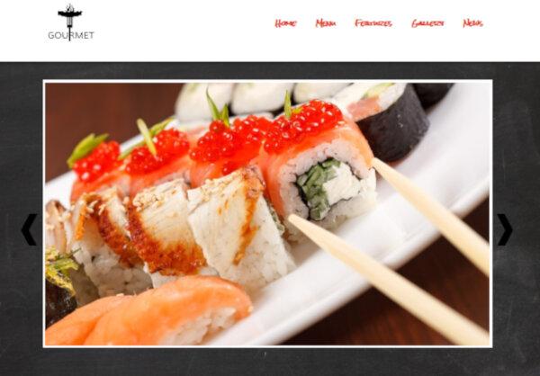 Gourmet – Mobile Friendly WordPress Theme