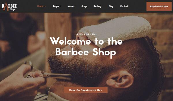 Barbee Shop – Professional WordPress Theme