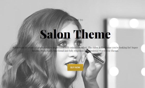 Salon – Creative WordPress Theme
