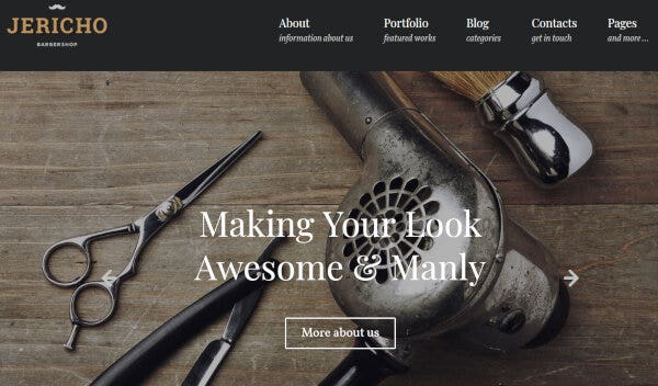 Jericho – Responsive WordPress Theme
