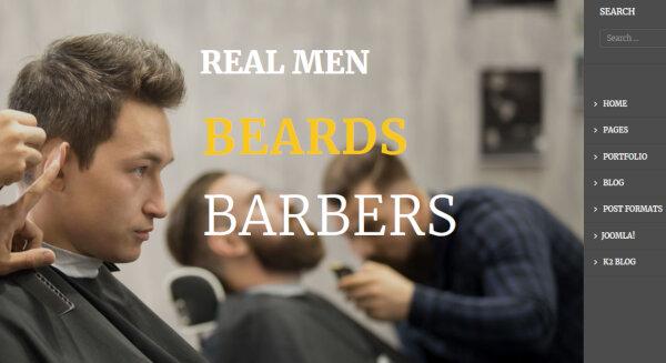 ET Barber – Professional WordPress Theme