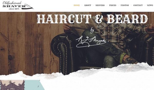 Shaver – Old fashioned classic WordPress Theme