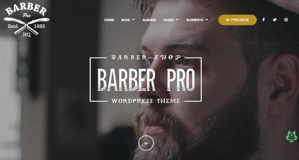 Barber Pro – Professional WordPress Theme