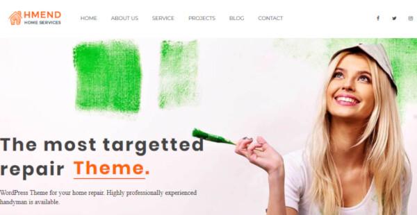 Hmend – Organized WordPress Theme