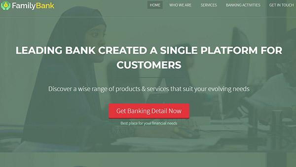 FamilyBank – SEO Optimized WordPress Theme