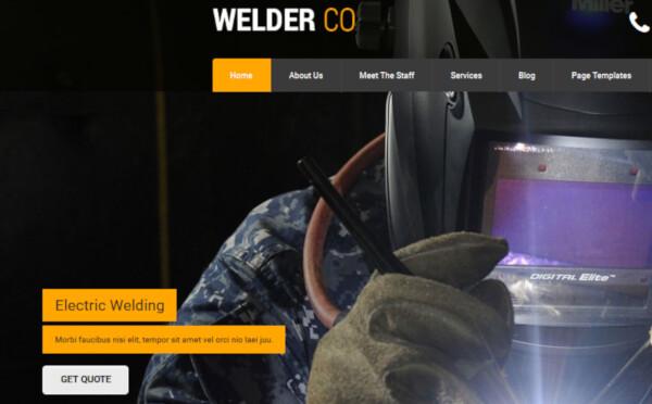Welder – Responsive WordPress Theme