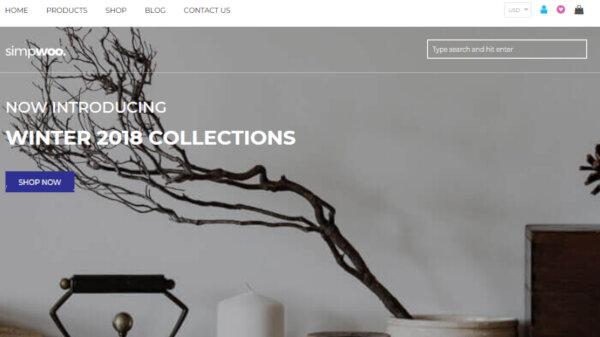 Free Fashion Store – Elementary WordPress Theme