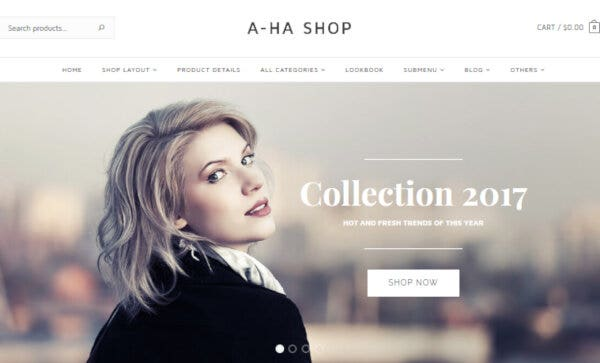Aha Shop – WooCommerce WordPress Theme