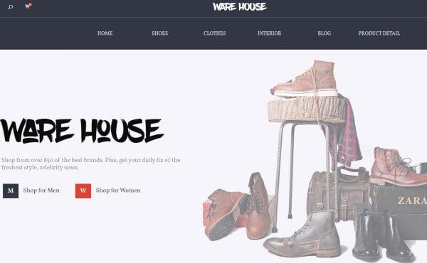 WareHouse – Multifunctional WordPress Theme
