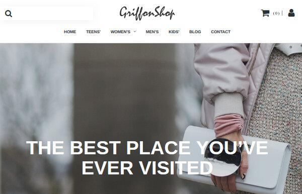 Grillon Shop – Innovative WordPress Theme