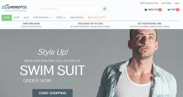 eCommerce – Modern WordPress Theme