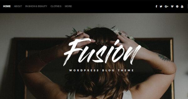 Fusion – Rich WordPress Theme