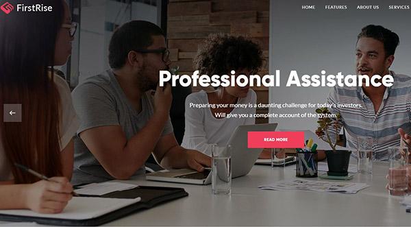 FirstRise – User Friendly WordPress Theme