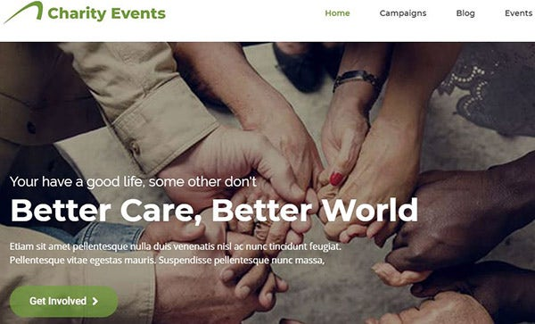 Charity Events – 1 Click Demo Import Supported WordPress Theme