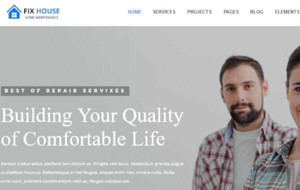 FixHouse – WPBakery WordPress Theme