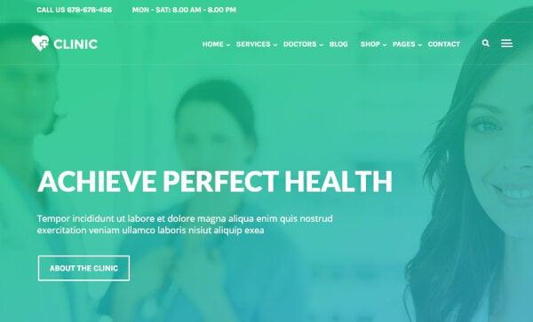 Clinic – Multipurpose WordPress Theme