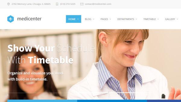 MediCenter – Responsive WordPress Theme