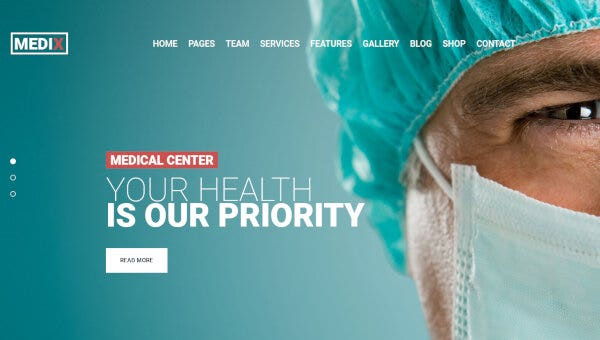 Medix – Sophisticated WordPress Theme