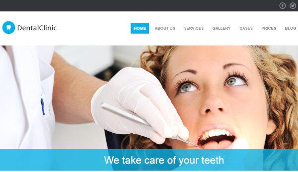 DentalClinic – Responsive WordPress Theme