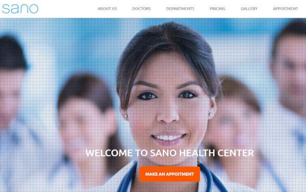 SANO – Responsive WordPress Theme