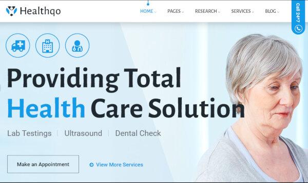 Healthqo – Multipurpose WordPress Theme