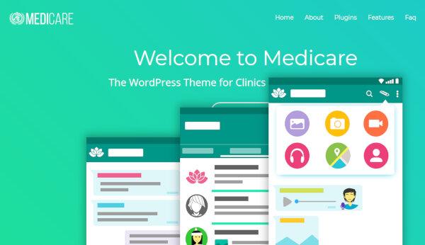 Medicare – Flexible WordPress Theme