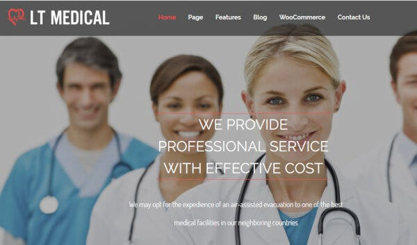 LT Medical – Responsive WordPress Theme