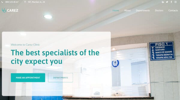 Carez – Professional WordPress Theme