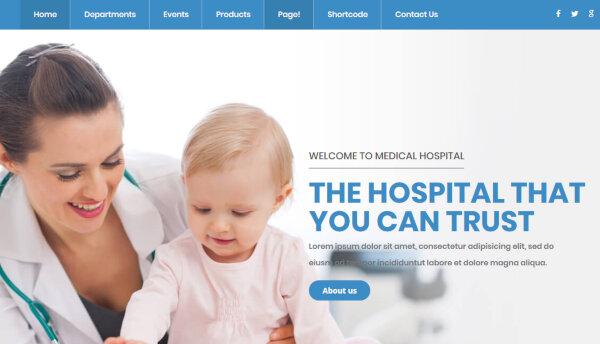 inMedical – Multipurpose WordPress Theme