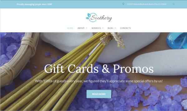 Soothery – Responsive WordPress Theme