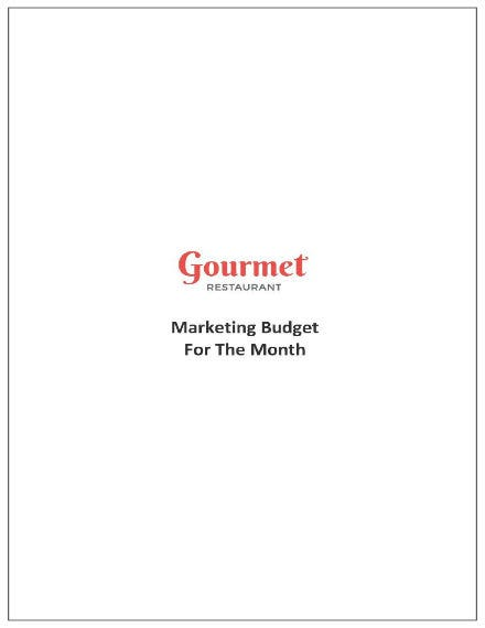 420 completed restaurant monthly budget template 011