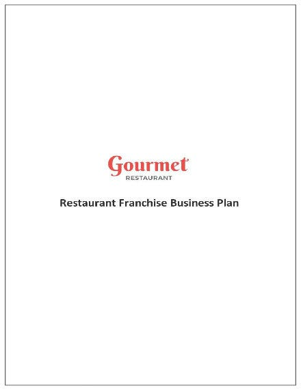 457 restaurant franchise business plan template 01