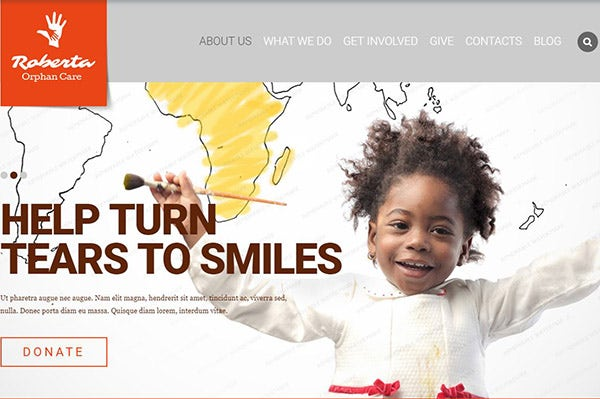 Child Charity – Cross Browser Compatible WordPress Theme
