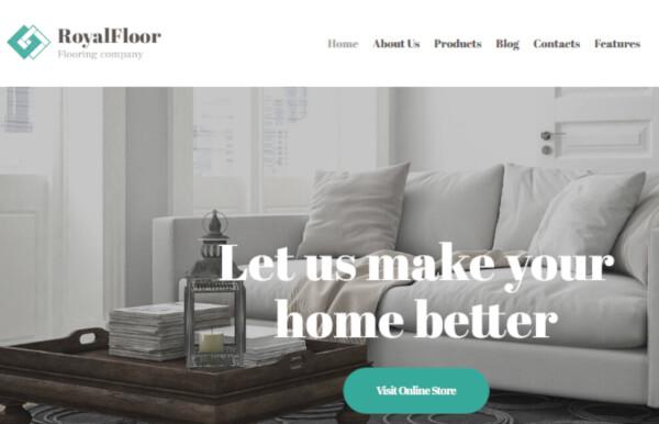 Royal Floor – SEO Friendly WordPress Theme
