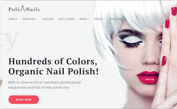 PoliNails – Fully Customizable WordPress Theme