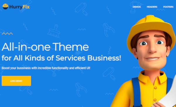 HurryFix – WooCommerce Compatible WordPress Theme