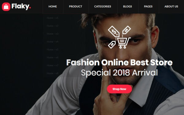 Flaky - Online Store Theme
