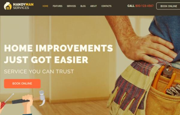 Handyman – Customizable WordPress Theme