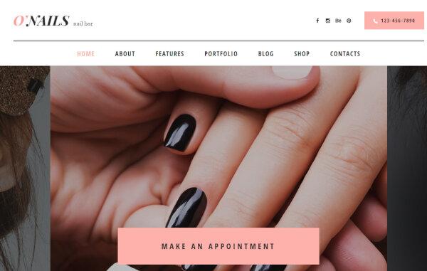O'Nails – Mobile Friendly WordPress Theme