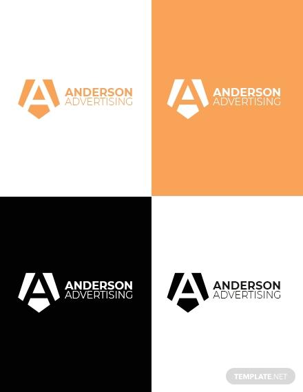 advertising agency logo format