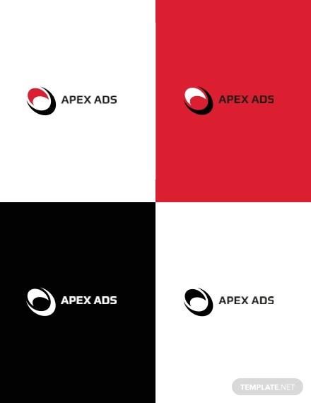 advertising consultant logo design 1x