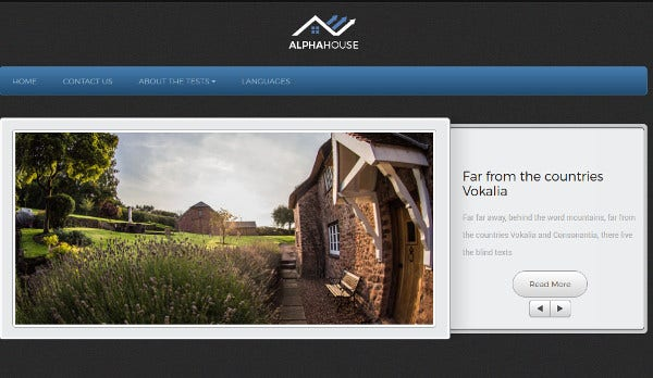 alphahouse custom sidebars wordpress theme