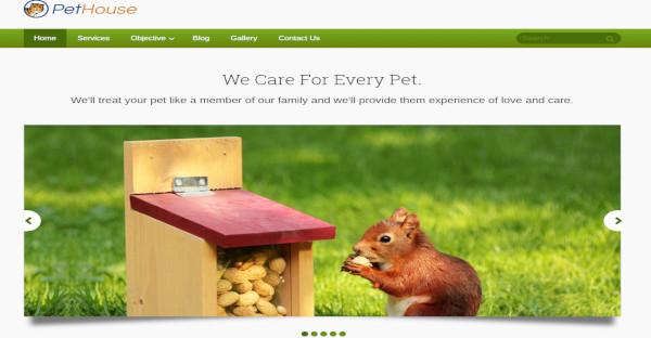 animal care –shop veterinary pets club wordpress theme